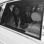 Charlotte wedding Rolls Royce